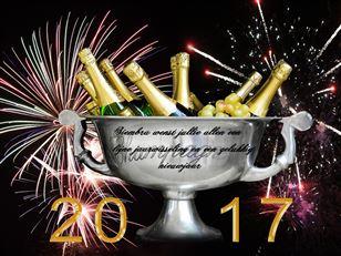 Fijne Jaarwisseling En Een Gelukkig Nieuwjaar